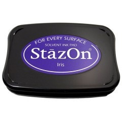 StazOn Ink Pad - Iris
