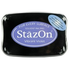 StazOn Ink Pad - Vibrant Violet