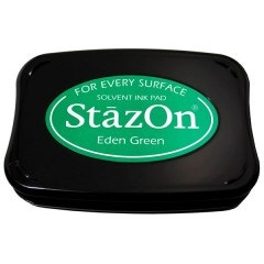 StazOn Ink Pad - Eden Green