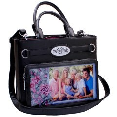 Art From the Heart Handbag-Black