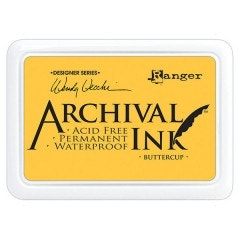 Ranger Archival Ink Pad - Buttercup