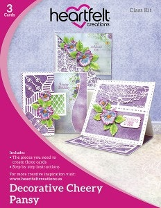 Decorative Cheery Pansy Class Kit
