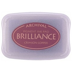 Brilliance Ink - Pearlescent Crimson Copper