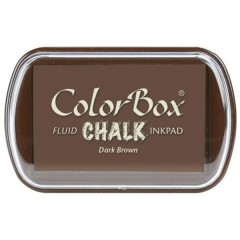 ColorBox Fluid Chalk Ink Pad - Dark Brown