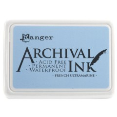 Ranger Archival Ink Pad - French Ultramarine