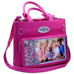 Art From the Heart Handbag-Fuchsia