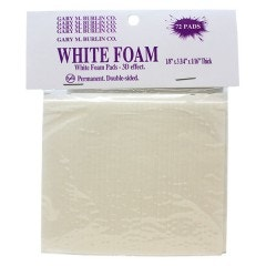 Adhesive Foam Strips - 72 Pieces