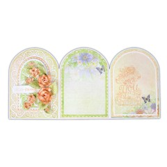 "5"" x 7"" Gateway Fold Card - White"