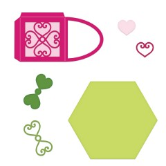 Treasured Heart Gift Box Die