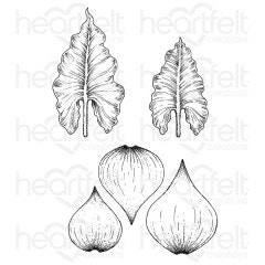 Calla Lily Cling Stamp Set