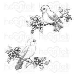 Floral Song Cling Stamp Set