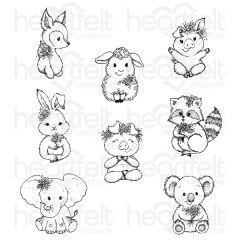 Baby's Friends Cling Stamp Set