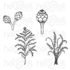 Floral Shoppe Fillers Cling Stamp Set