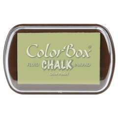 ColorBox Fluid Chalk Ink Pad - Olive Pastel