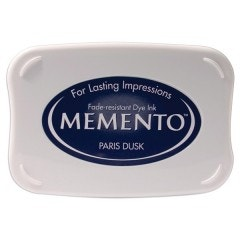 Memento Dye Ink Pad - Paris Dusk