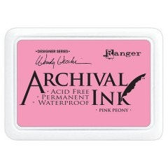 Ranger Archival Ink Pad - Pink Peony