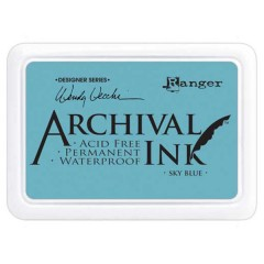 Ranger Archival Ink Pad - Sky Blue