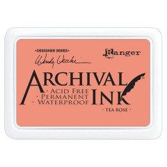Ranger Archival Ink Pad - Tea Rose