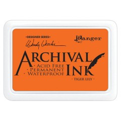 Ranger Archival Ink Pad - Tiger Lily