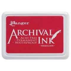 Ranger Archival Ink Pad - Vermillion