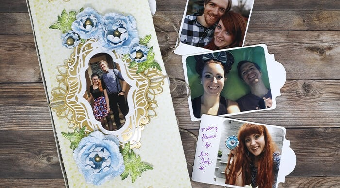 How to create albums with 30 interactive photo pockets