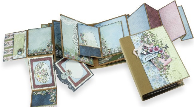 Beginner's Workshop for Elegant Flipfold Albums: Decorating Your Flipfold Album Pages