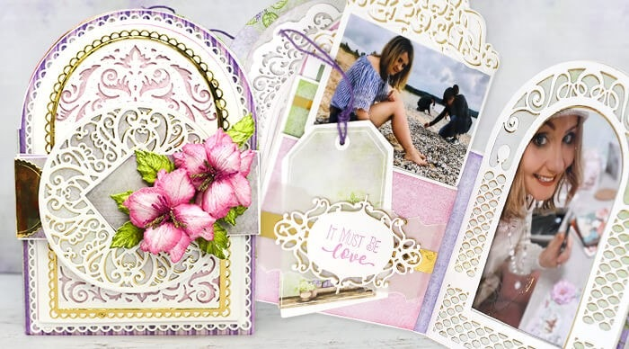 How to create mini albums with gateway cards & interactive photo pockets