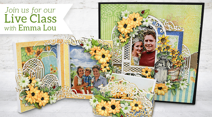 How to Create Rustic Sunflowers & Preserve Special Moments 3 different ways