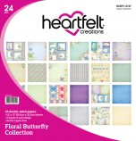 Floral Butterfly Paper Collection