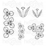 Tulip Time Cling Stamp Set
