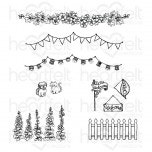 Elements of Home Cling Stamp Set