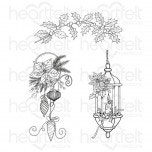 Glow of Christmas Cling Stamp Set