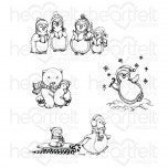Merry Moments Cling Stamp Set