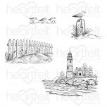 Sea Breeze Harbor Cling Stamp Set