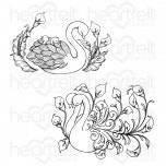 Swan Lake Cling Stamp Set