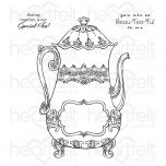 Special Teapot Cling Stamp Set
