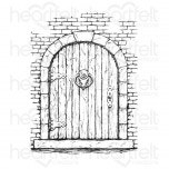 French Doorway Cling Stamp Set