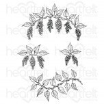 Cascading Wisteria Cling Stamp Set