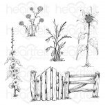 Barnyard Accents Cling Stamp Set