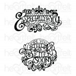 Elegant Especially for You Cling Stamp Set