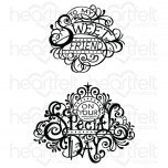 Fancy Special Day Cling Stamp Set