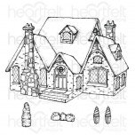 Countryside Cottage Cling Stamp Set