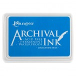 Ranger Archival Ink Pad - Manganese Blue