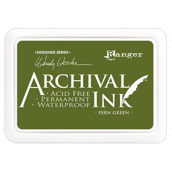 Ranger Archival Ink Pad - Fern Green
