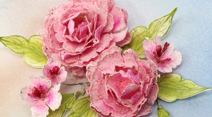 How to shape and create Elegant Sweet Peonies 8 Different Ways