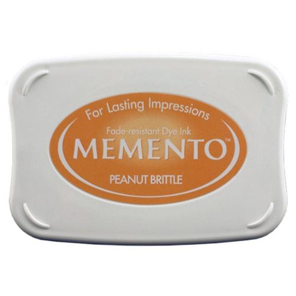 Memento Dye Ink Pad - Peanut Brittle