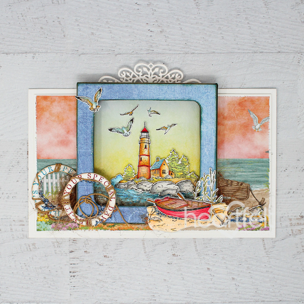 Sea Breeze Harbor Cling Stamp Set
