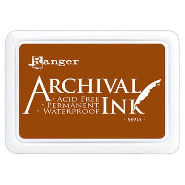 Ranger Archival Ink Pad - Sepia