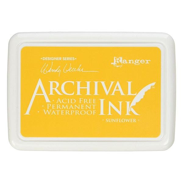 Ranger Archival Ink Pad - Sunflower