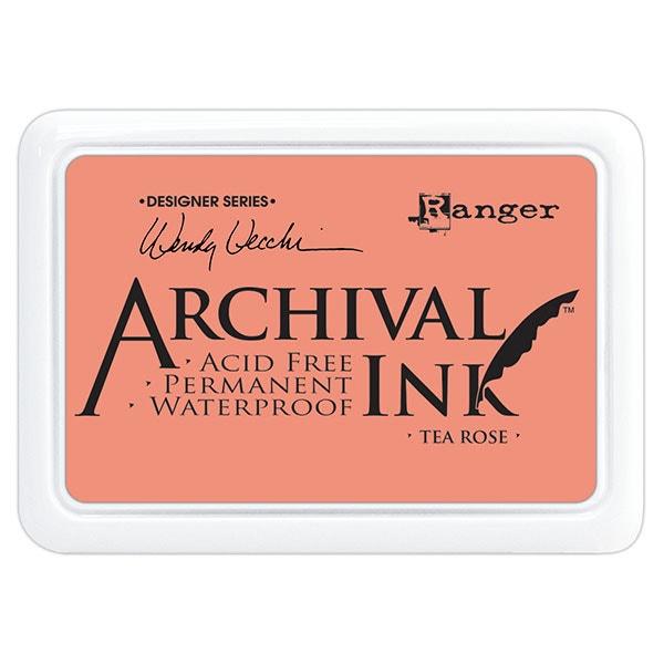 Ranger Archival Ink Pad - Tea Rose